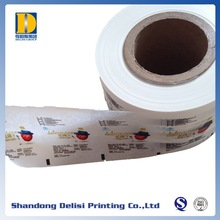 Custom Printed Food Grade Matt PE Laminated Plastic Films for Packaging