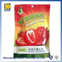 Food Safety Crisps Packaging Foil Laminated Plastic Bags with Tearing Notches