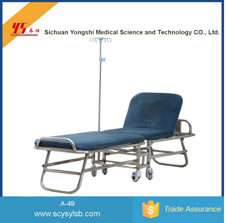 Portable Stainless Steel Recliner Chair Bed Tilt Mechanism on Sale