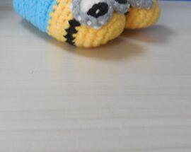 Crochet Baby prewalker toddler shoes