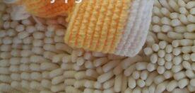 wool Baby Booties, crochet baby booties