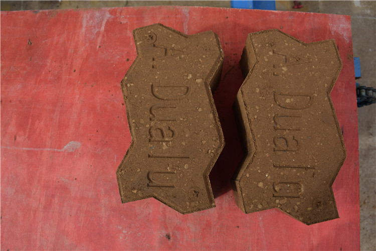 small brick making machine qmr 2-40 manmade interlock machine