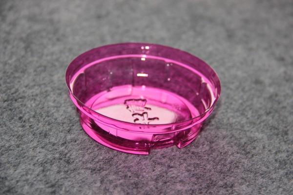 Plastic lid for yogurt cup