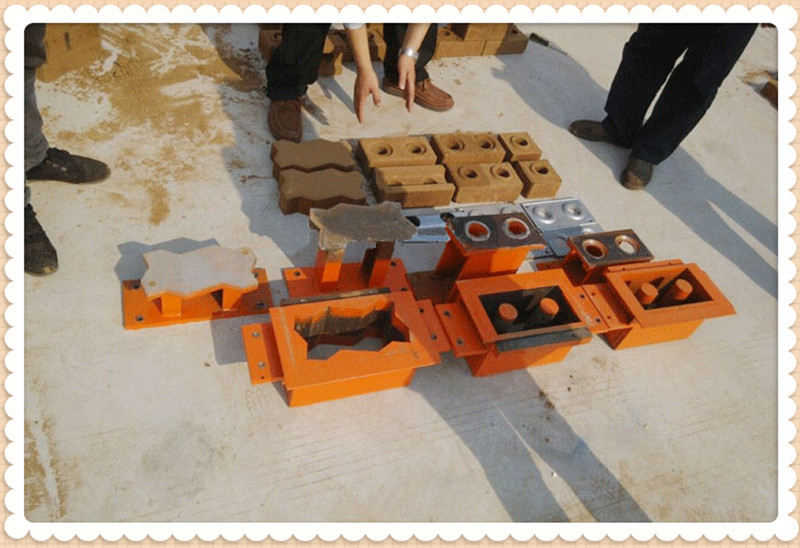 SL1-25 automatic clay cement interlocking block making machine price in Africa