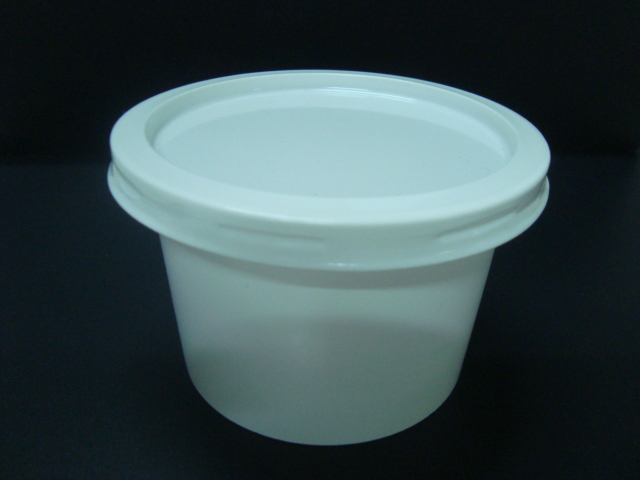 PS plastic denture container
