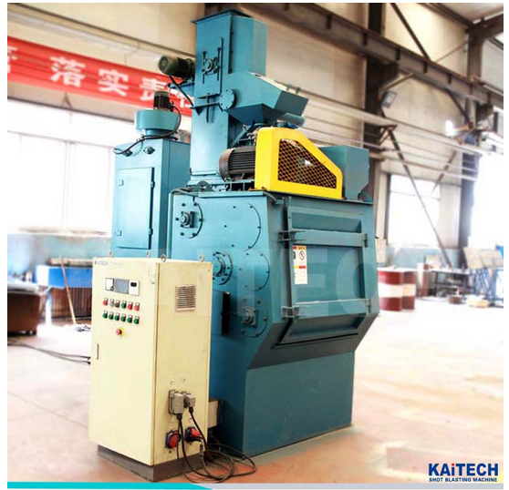 Shandong kaitai Q326 roller diameter 1000 Tumble Belt type Shot Blasting Machine