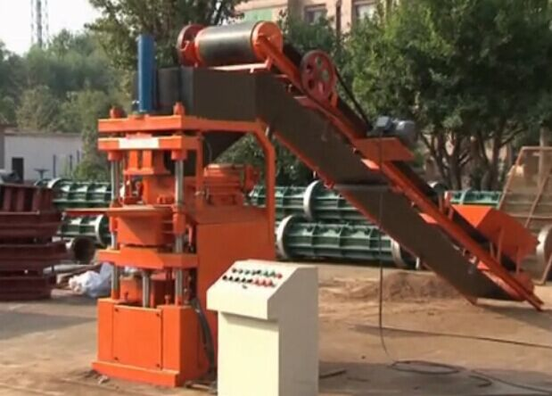 2015 best selling sy 1-10 Hydraulic Pressure Method and Interlock Block Making Machine, Interlocking Brick Making Machine