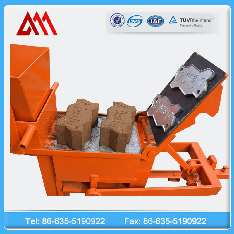 Low cost small clay brick making machine QMR1-40 / 2-40 brick making machine prices