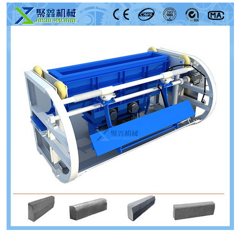 KOLUMBUS curbstone machine / concrete curb making machine / mobile curbstone block making machine