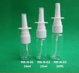 wholesale 10ml 15ml 20ml 30ml pet nasal mist spray bottle