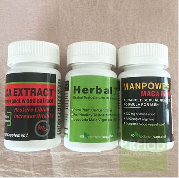 High potency black maca capsule Restoration Herbal Supplement, Vegetarian Capsules - 60 count bottle