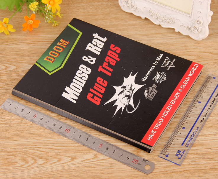 DOOM BOARD Strong adhesive odourless glue trap adhesive mice mouse rat