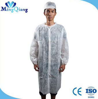 Medical Jacket Disposable Water Resistant Lab Coat