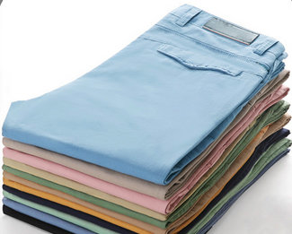 2015 brand fashion slim fit casual cotton chinos trousers for men