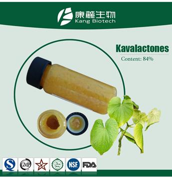 High purity kawa resin extract