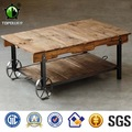 Modern Wooden Tea Table Design Centre End Tables