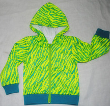 100% polyester fleece child wear