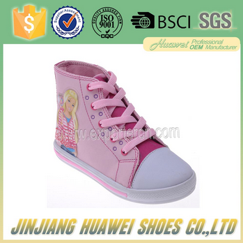 cheap shoes for 2.99 dollars with the cute pink color for girls made in China factory