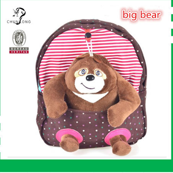 2014 New Style Kindergarten Kids Backpack School Bag
