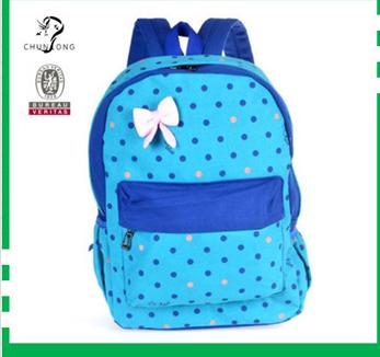 Hot Sale Girl's Canvas Sweet Backpacks