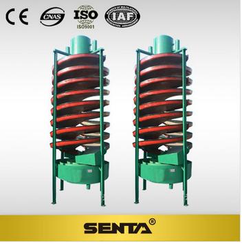 Gravity Separating Spiral Chute Separator