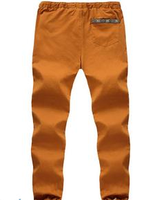 wholesale men navy chino fashion cotton custom jogger sweatpants