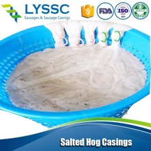 Export Brazil Natural Salted Hog Casings for Sausage with HACCP 90m International Standard