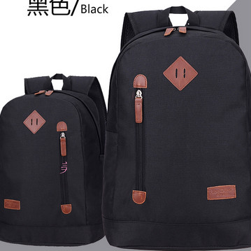 Factory supply Teenage color oxford school bag university backpack