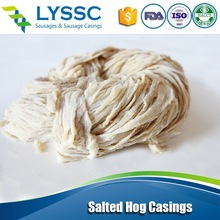 Export Supplier Natural Sausage Casing, Quality Fresh Salted Hog Casing EU Approved ISO Certification