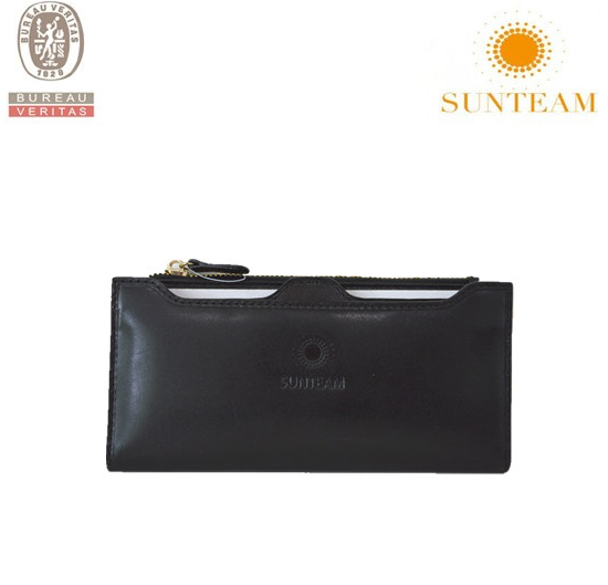 smart design cow leather wallet 2015