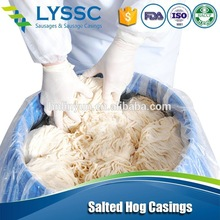 Export to Western Europe with High Perfomance 34/36 Caliber Natural Hog Casing for Sausage Natural Hog Casings