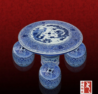 round solid porcelain table
