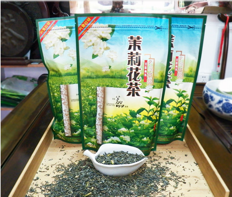 2015 New Cheap and good jasmine green tea
