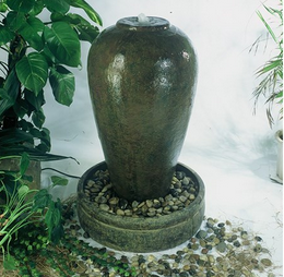 Charming design large grecian urn resin european water fountain