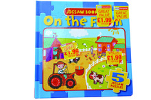 children board puzzle book