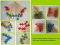 Practical bamboo fruit picks