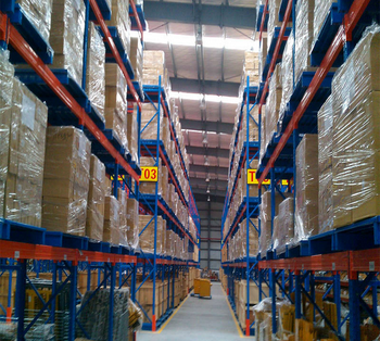 China storage Q235 metal pallet racking system