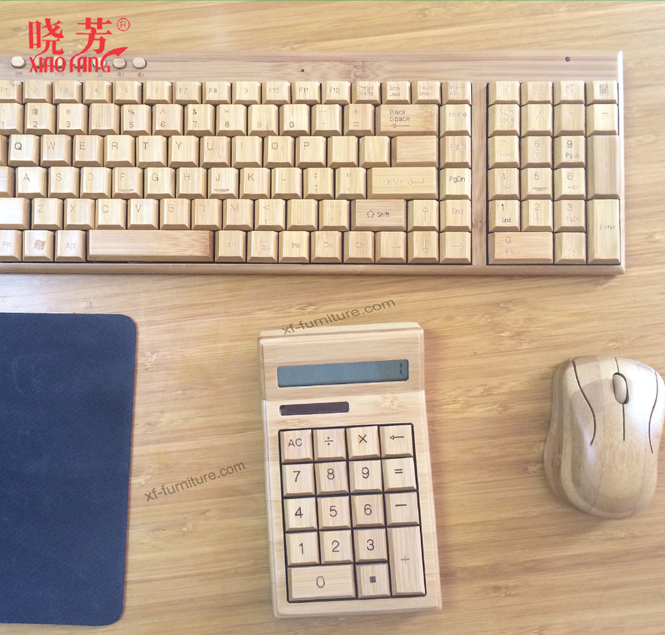 bluetooth bamboo keyboard for mini