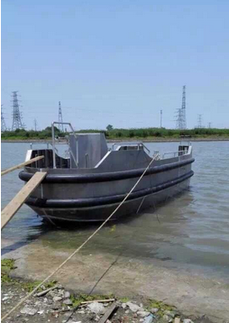 25 feet High strength Aluminium mini tug work boat offshore