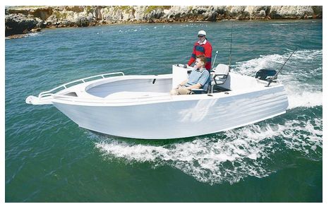 China most popular Aluminium fishing boat with control console