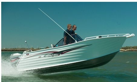 SANJ high speed aluminium fishing boat 10ft 12ft 14ft walkaround runabout bass boat
