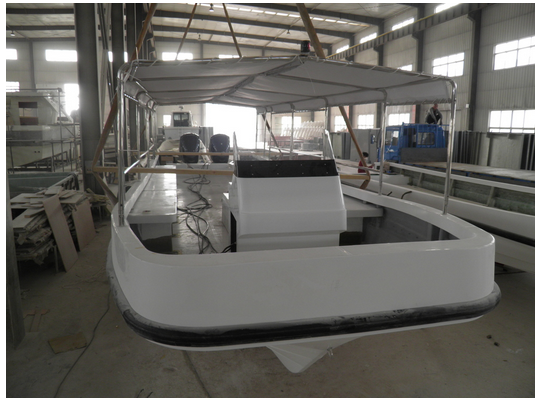 Customized High speed sightseeing passenger river boat 30 passengers