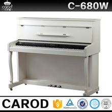 88 keys digital upright piano wooden flexible keyboard white digital upright piano