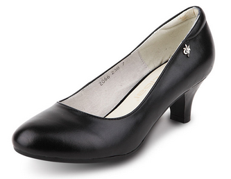 black formal sex women office shoes from china manufacturers