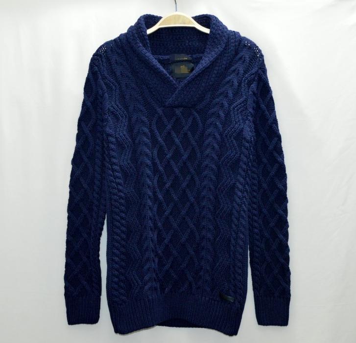 Fashion Shawl Collar Casual Latest Pullover Sweater Designs For Men