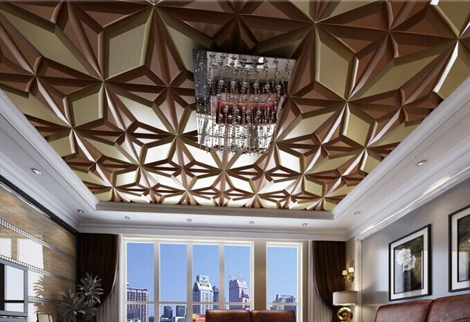 2015 hot sale innovative European construction material eco-friendly stylish modern ceiling design