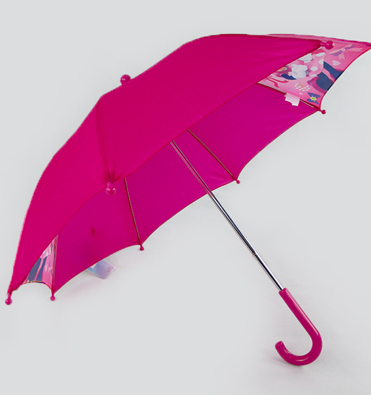 Hot sale high quality custom mickey mouse children red umbrella