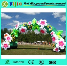 oxford material changing colors decoration wedding arch
