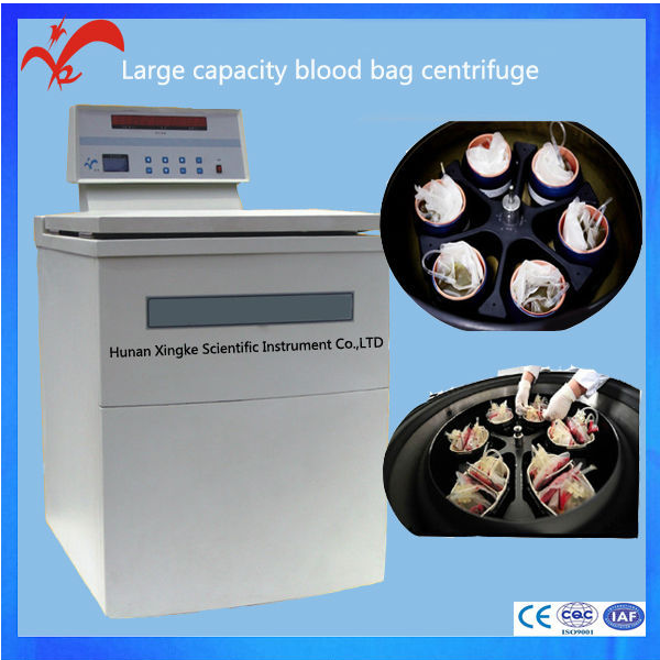 Large Capacity Blood Bank Centrifuge for Blood Bag separate