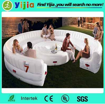 inflatable sofa chair bench for party bar